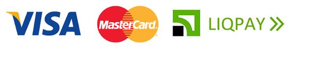 Принимаем оплату Visa/Mastercard через Liqpay